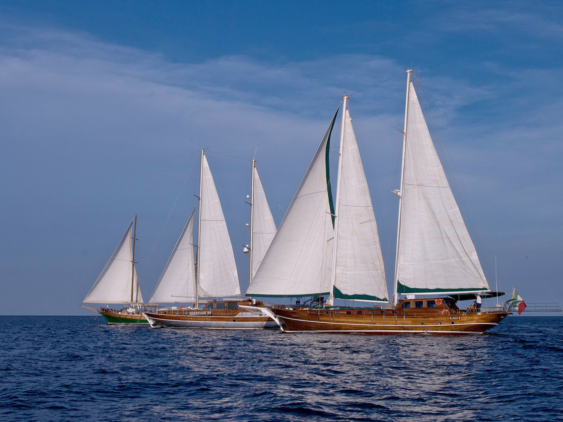 a wonderful sailing boat cruise