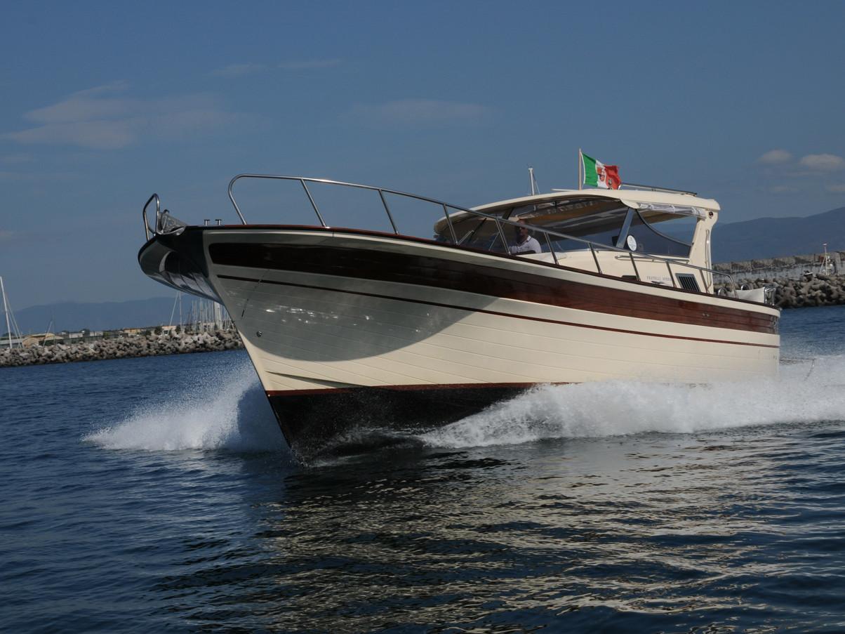 Agavè 50 Gozzo Aprea 36 | Amalfi Coast private gozzo rental